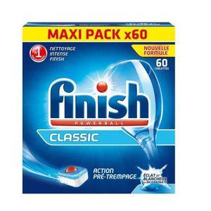 EAU DE JAVEL FINISH Lot de 60 tablettes lave-vaisselle Classic