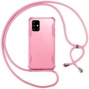 Bordeaux//Camouflage Rouge ZhinkArts Collier pour Samsung Galaxy A6 - /Étui de T/él/éphone avec Cordon /Ètuis /à Bandouli/ère 2018 Coque pour Smartphone