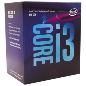 PROCESSEUR Cpu Intel I3 8100 Socket 1151 3.6ghz Coffe Lake 8ª