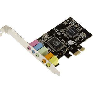 CARTE CONTROLEUR Carte PCIe (PCI Express) Son 5.1 CANAUX - CHIPSET