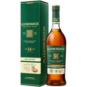 WHISKY BOURBON SCOTCH Glenmorangie 14 ans The Quinta Ruban - Highlands S