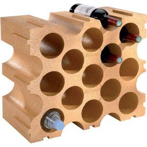 MEUBLE RANGE BOUTEILLE range 15 bouteilles polystyrène - MOTTEZ