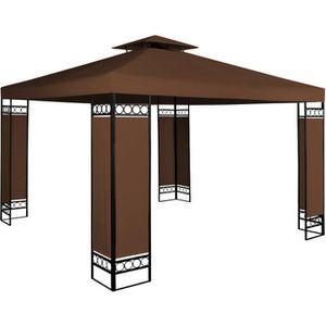 TONNELLE - BARNUM Tonnelle de jardin LORCA bleu- 3x3m - Pavillon de