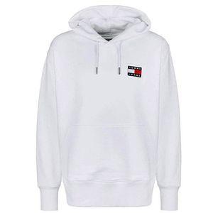 Neuf avec étiquette Tommy Hilfiger Femmes Sweat-shirt à encolure ras-du-cou Slim Fit Pull-over à Capuche