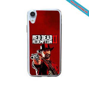 COQUE - BUMPER Coque silicone Iphone XR Fan de Red Dead Redemptio