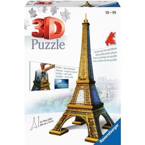 PUZZLE RAVENSBURGER Puzzle 3D Tour Eiffel 216 pcs