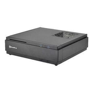 BOITIER PC  SilverStone SST-ML07B - Milo Boîtier PC Slim HTPC
