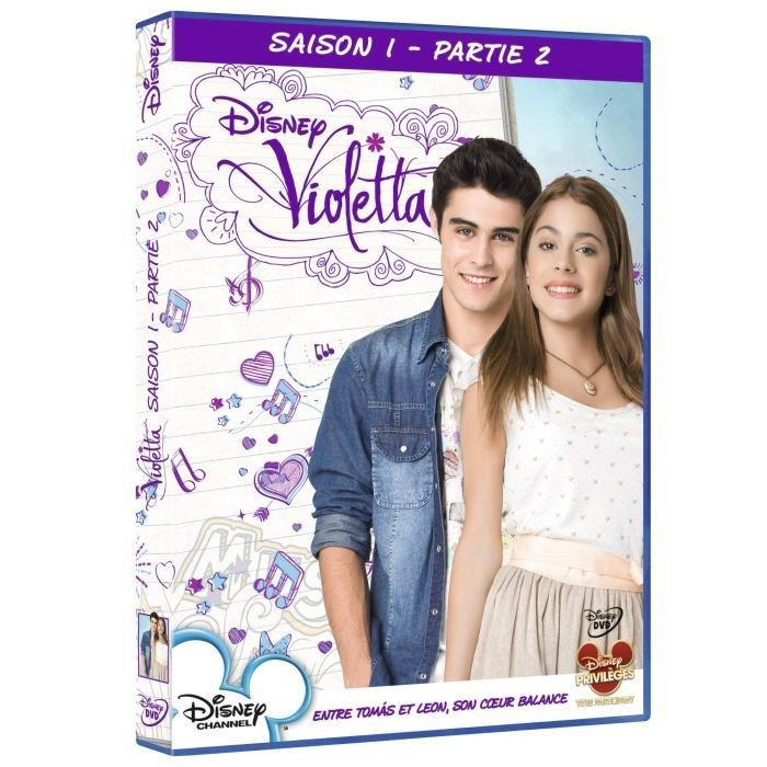 dvd coffret violetta saison 1 vol 2 en dvd s rie pas cher cdiscount. Black Bedroom Furniture Sets. Home Design Ideas