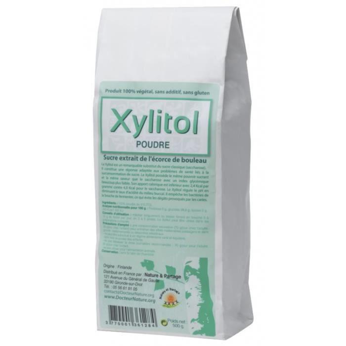 Poudre de Xylitol - 500 g Poudre de Xylitol - 500 g