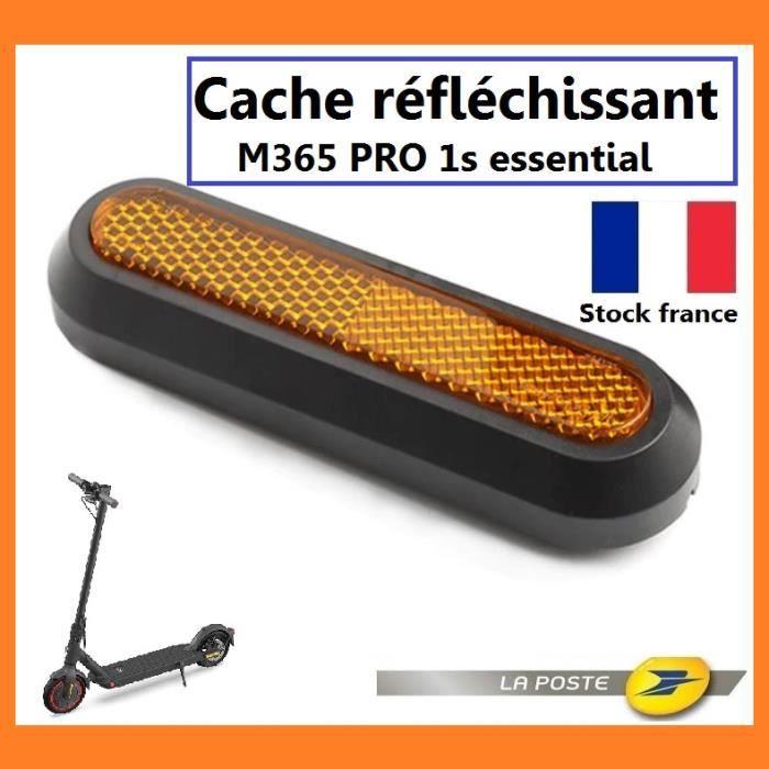 Cache réfléchissant pour roue arrière trottinette électrique xiaomi M365 Pro 1s essential latéral protection roue xiaomi (1 cache)