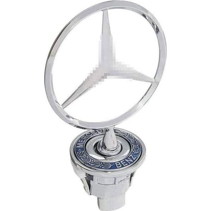 Emblème d'ornement de Capot Avant de Voiture en métal pour Mercedes Benz Classe C E S W S230/S250/S260/S280/S300/S320/230/E240/E260/