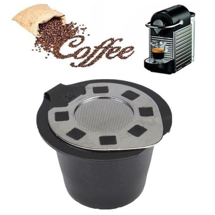 Recyclable Filtre Capsule à Café Rechange Outil Pr Nespresso Cafetière Machine à Café 20 ml Wir38