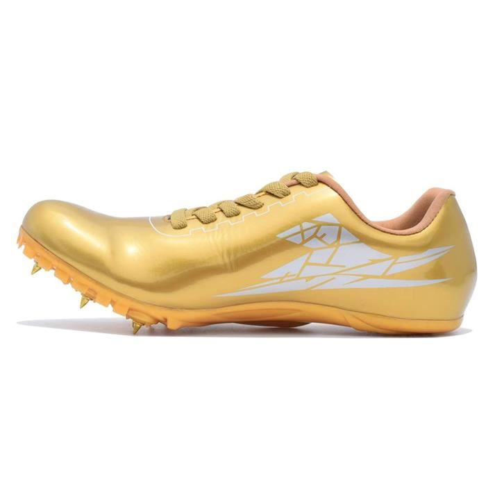 Chaussures De Running JG84C Chaussures Track Spikes Distance en cours Chaussures de sport Athletic Sprinting Athlétisme Course Chaus