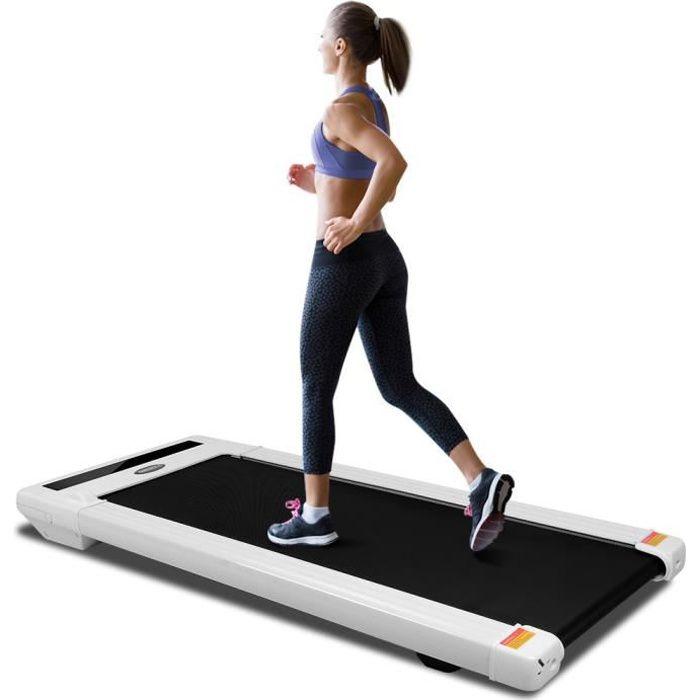 OneTwoFit Tapis de course Fitness, tapis de marche , avec écran LED, télécommande, Réglage de la Vitesse OT131