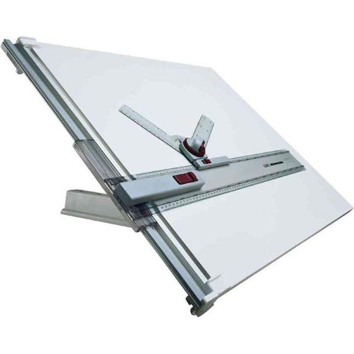 Table à dessin A2, avec planche à dessin recouve