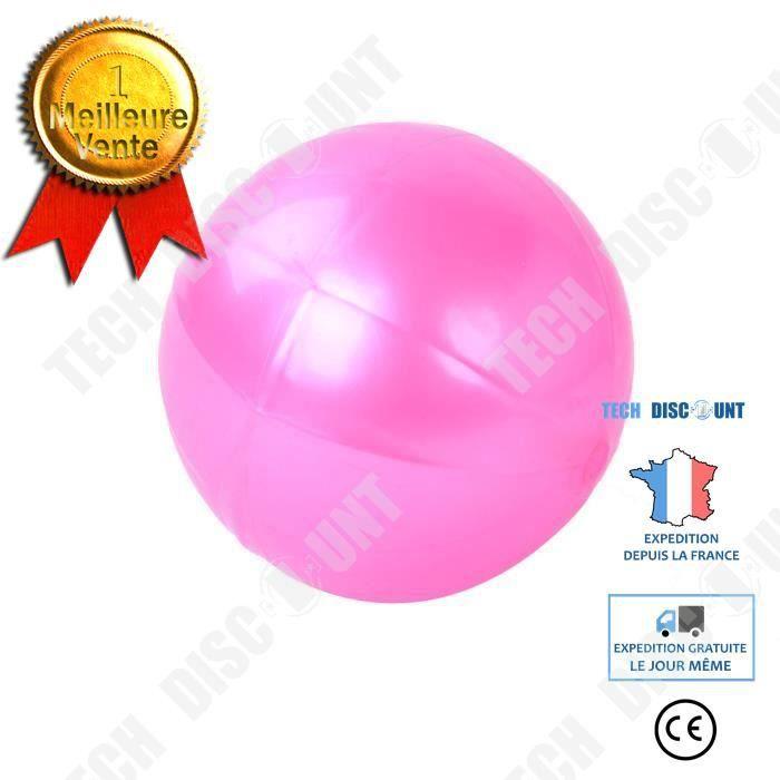 TD® Ballon de Fitness/ Yoga exercice Swiss ball Salle de gym Pilates Équilibre exercice Fitness Air Pump Anti-Burst/Solide
