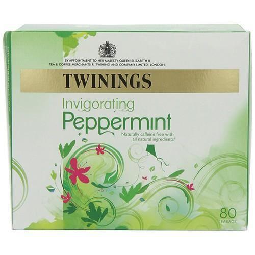 Twinings Thé de menthe poivrée pure 80 Sacs