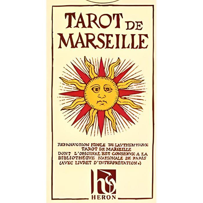 CARTES DE JEU Tarot De MARSEILLE Heron / N. Conver 78 Cartes