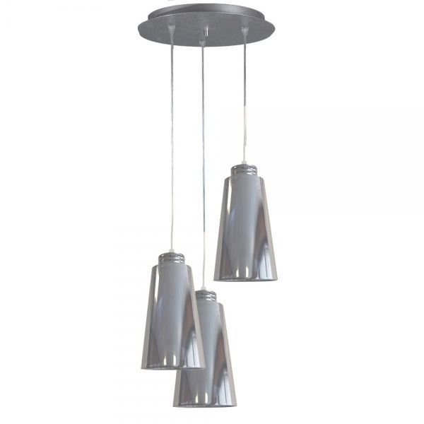 suspension 3 lampes bara achat vente suspension 3. Black Bedroom Furniture Sets. Home Design Ideas