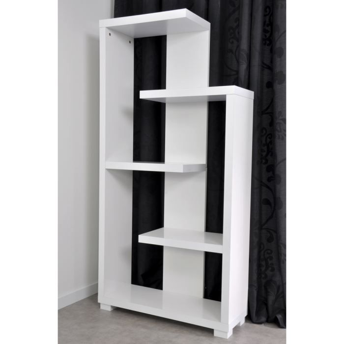 etagere laquee blanche achat vente etagere laquee. Black Bedroom Furniture Sets. Home Design Ideas