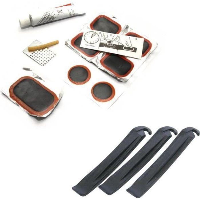 /'Velox/' Kit de réparation de crevaison de vélo