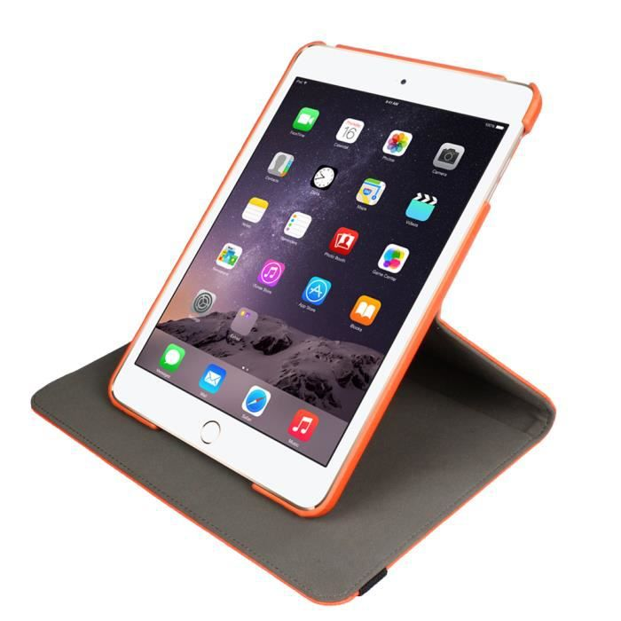 protection 360 pour ipad mini 2 orange prix pas cher cdiscount. Black Bedroom Furniture Sets. Home Design Ideas