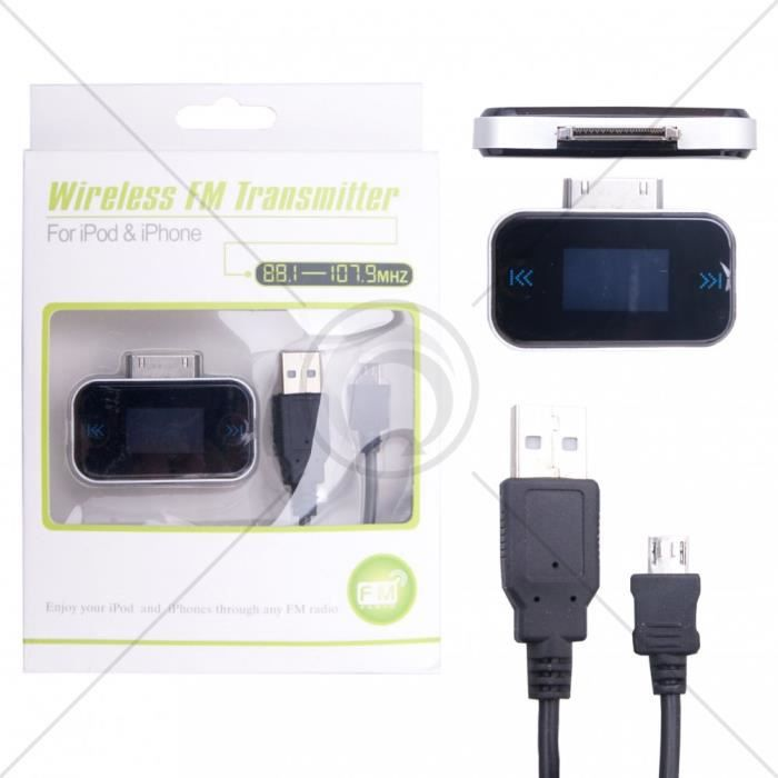 TRANSMITER FM  182 pour iPhone 3G/3Gs/4/4s/iPad 1/