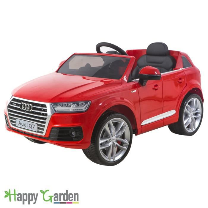 voiture lectrique audi q7 rouge achat vente voiture enfant cdiscount. Black Bedroom Furniture Sets. Home Design Ideas