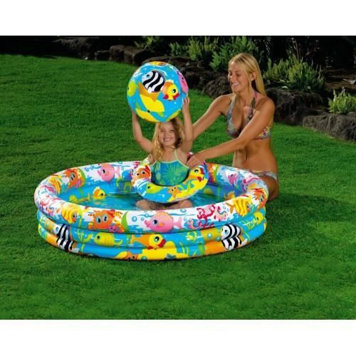 piscine bouee ballon enfant intex achat vente pataugeoire cdiscount. Black Bedroom Furniture Sets. Home Design Ideas