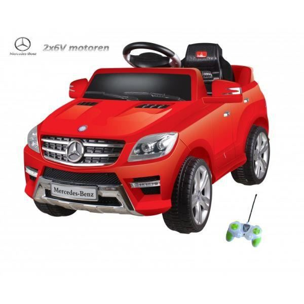 mercedes ml55 rouge voiture lectrique enfant achat. Black Bedroom Furniture Sets. Home Design Ideas