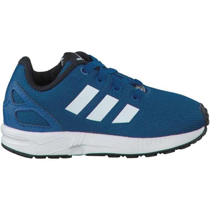 Adidas Baskets ZX FLUX KIDS Bleu