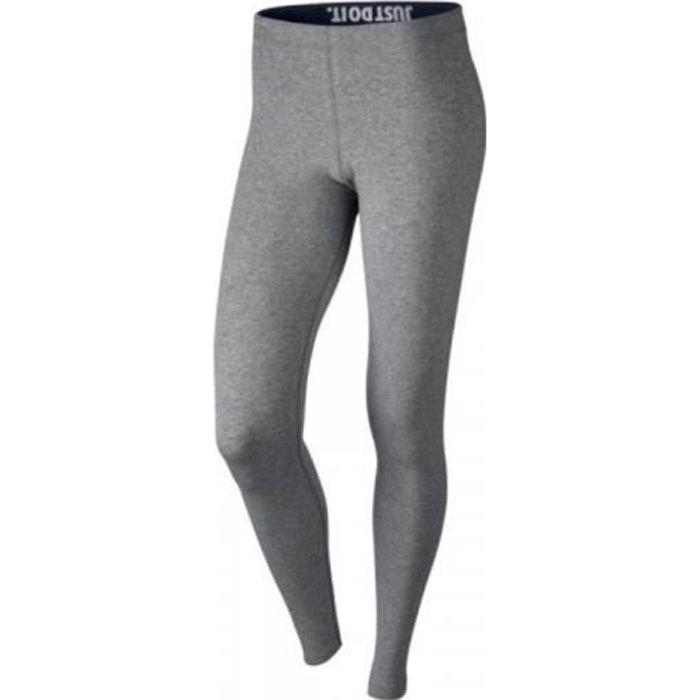 Dalset hermosa Agrícola  Nike - Nike W Nsw Leg-A-See Leggings Femme Gris Gris - Achat / Vente legging  - Cdiscount