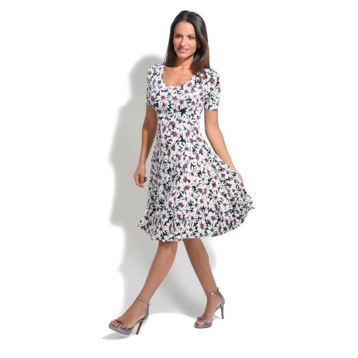 Femme 100Lin Robe Printemps Collection Eté Nv0OmnPy8w