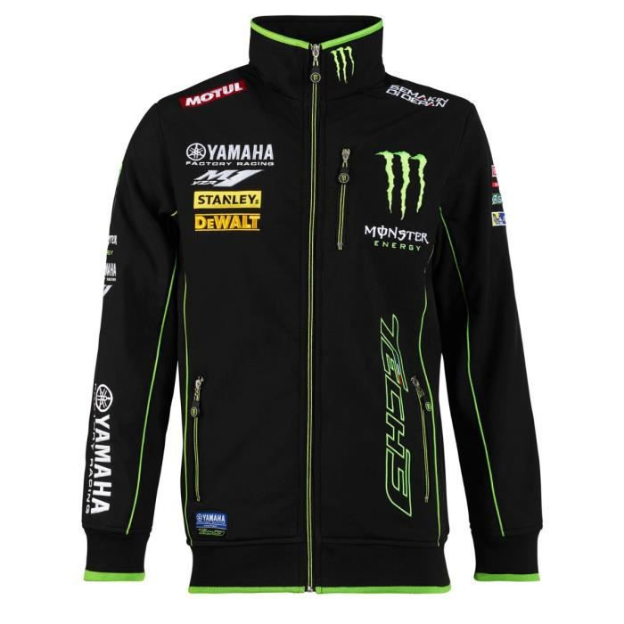 VESTE VESTE OFFICIELLE SOFTSHELL YAMAHA MONSTER ENERGY T