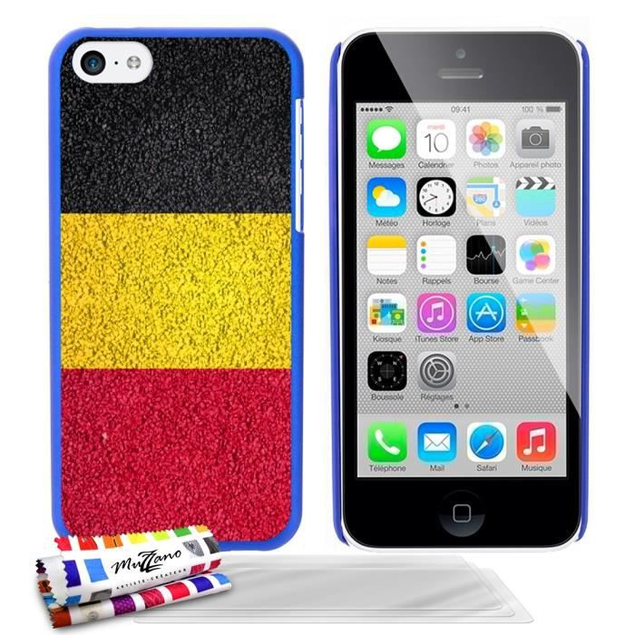 coque rigide bleue pour apple iphone 5c motif drapeau. Black Bedroom Furniture Sets. Home Design Ideas