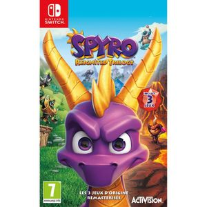 JEU NINTENDO SWITCH Spyro Reignited Trilogy Jeu Switch