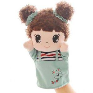 Adorable Girl Tissu Marionnettes Dessin Animé Modèle