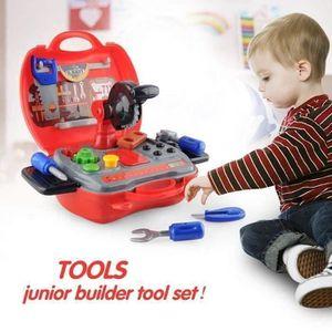 Childrens Black /& Decker Véritable Authentique jouet Jigsaw Outil Jeu Set Builder NEUF