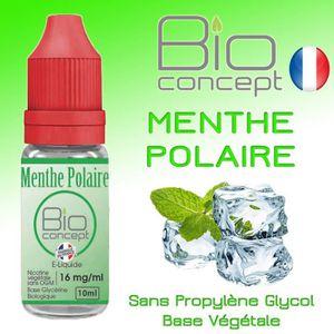 LIQUIDE E liquide BIO CONCEPT MENTHE POLAIRE 16MG 10ml - E