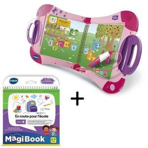 LIVRE INTERACTIF ENFANT VTECH - MagiBook Starter Pack Rose & En route pour