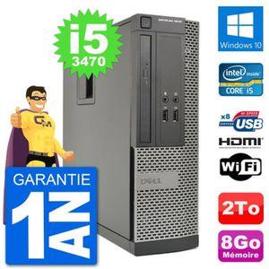 ORDI BUREAU RECONDITIONNÉ PC Dell OptiPlex 3010 SFF Intel i5-3470 RAM 8Go Di