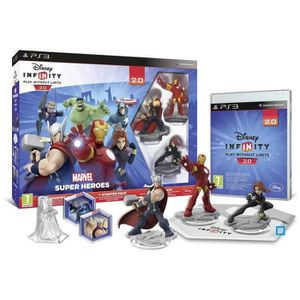 JEU PS3 Disney Infinity 2.0 Marvel Superheroes Starter ...