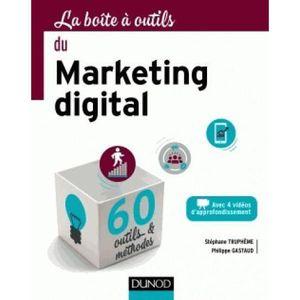 MANUEL UNIVERISTAIRE Livre - LA BOITE A OUTILS ; du marketing digital