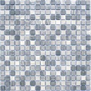 Mosaique en pate de verre salle de bain