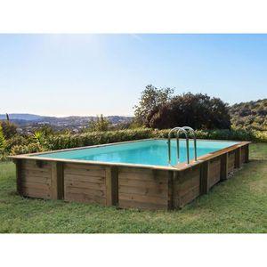 piscine hors sol rectangulaire Le Vésinet