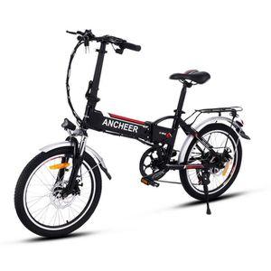 VÉLO ASSISTANCE ÉLEC ANCHEER Vélo électrique de montagne pliant 20