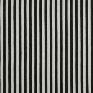 TISSU Tissu fines rayures Noir et Blanc 100% coton