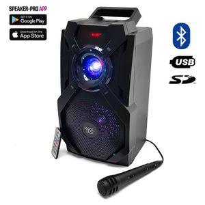 ENCEINTE ET RETOUR Enceinte Karaoke KoolStar batterie à LED - 200W -