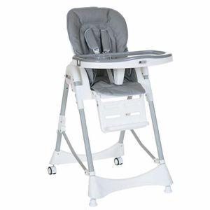 CHAISE HAUTE  LCP Kids Chaise Haute Bébé Inclinable; 20 kg Capac