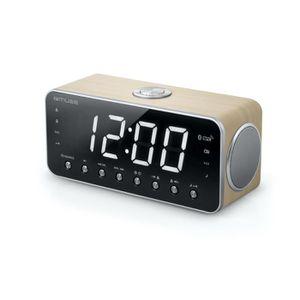 Radio réveil Muse M-196 Radio-Radio-réveil MP3 Port USB
